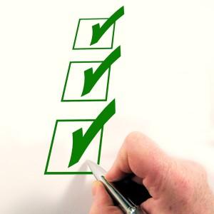 Checklist für Förderungen in der Altenpflege